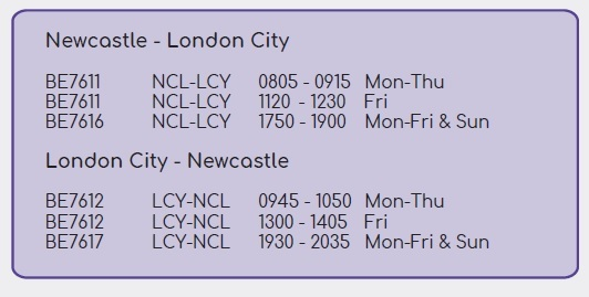 Flybe New Route Announcement