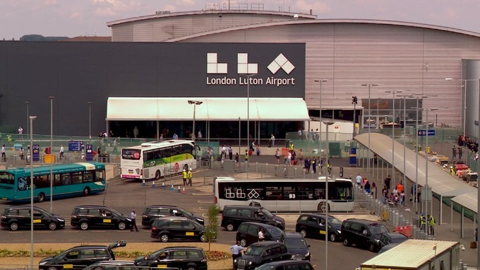 Security staff plan strike at Luton Airport